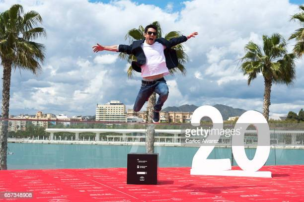 Spanish actor Alejo Sauras attends the 'El Jugador de Ajedrez' photocall on day 8 of the 20th Malaga Film Festival on March 24 2017 in Malaga Spain