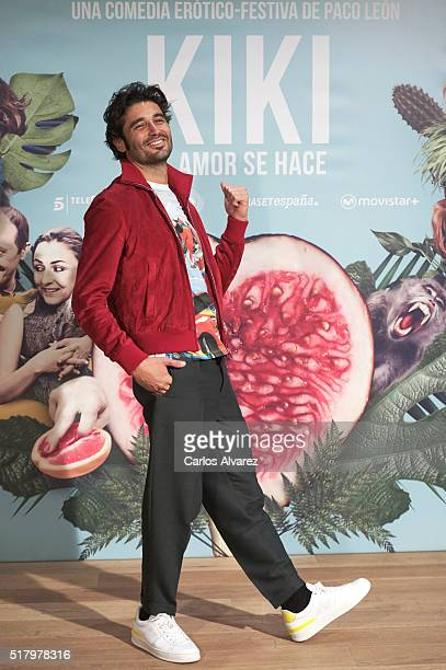 Spanish actor Alex Garcia attends 'Kiki El Amor Se Hace' photocall at the Urso Hotel on March 29 2016 in Madrid Spain
