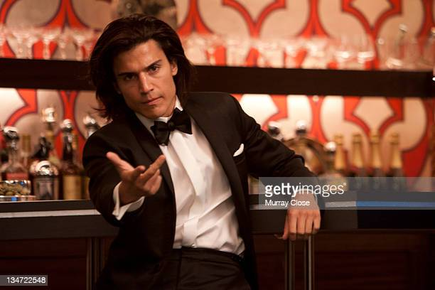 Spanish actor Alex Gonzalez as Janos Quested aka Riptide in a scene from the film 'XMen First Class' 2011