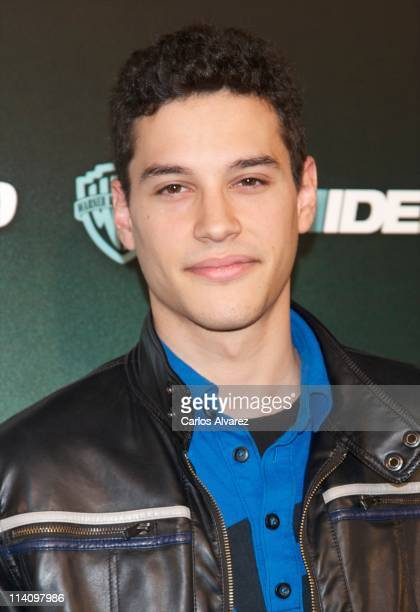 Spanish actor Alex Martinez attends 'Sin Identidad' premiere at Capitol Cinema on May 11 2011 in Madrid Spain
