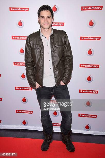 Spanish actor Alex Martinez attends the Leiva concert at Joy Eslava Club on November 25 2014 in Madrid Spain