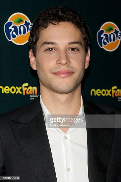 Spanish actor Alex Martinez attends the Neox Fan Awards 2014 at the Compac Gran Via Theater on October 8 2014 in Madrid Spain