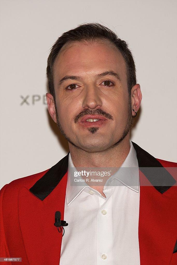 Spanish actor Alex O'Dogherty attends 'El Roast De Santiago Segura. Amiguetes Los Justos' photocall at the Calderon Teather on April 1, 2014 in Madrid, Spain.