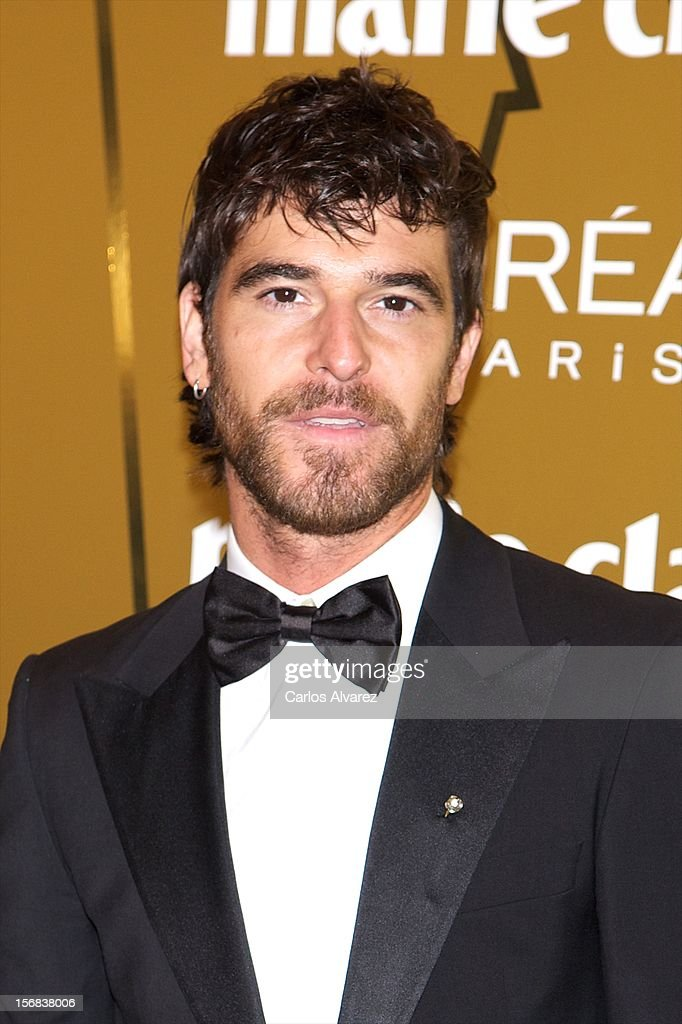 Spanish actor Alfonso Bassave attends Marie Claire Prix de la Moda Awards 2012 at the French Embassy on November 22, 2012 in Madrid, Spain.