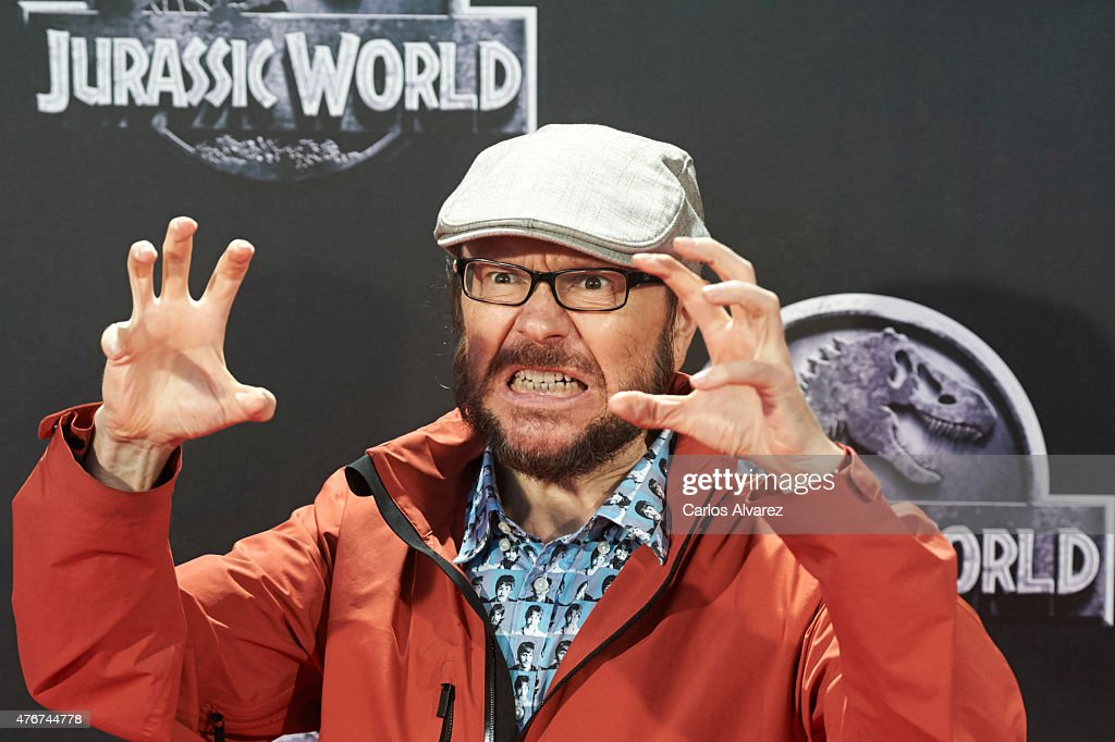 Spanish actor and director Santiago Segura attends the 'Jurassic World' premiere at the Capitol Cinema on June 11 2015 in Madrid Spain