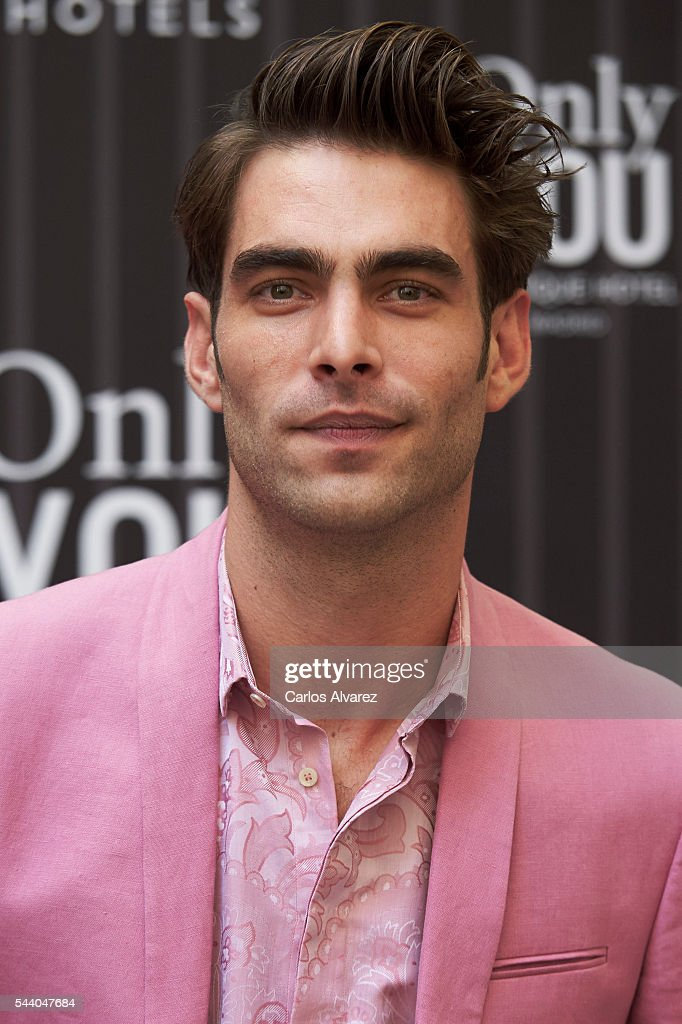 Spanish actor and model <a gi-track='captionPersonalityLinkClicked' href=/galleries/search?phrase=Jon+Kortajarena&family=editorial&specificpeople=4684429 ng-click='$event.stopPropagation()'>Jon Kortajarena</a> attends 'Pieles' photocall at the Only You Hotel on July 1, 2016 in Madrid, Spain.