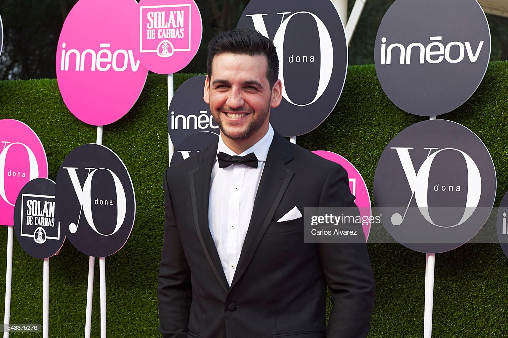 Spanish actor and singer Fran Perea attends 'Yo Dona' International awards on June 27, 2016 in Madrid, Spain.