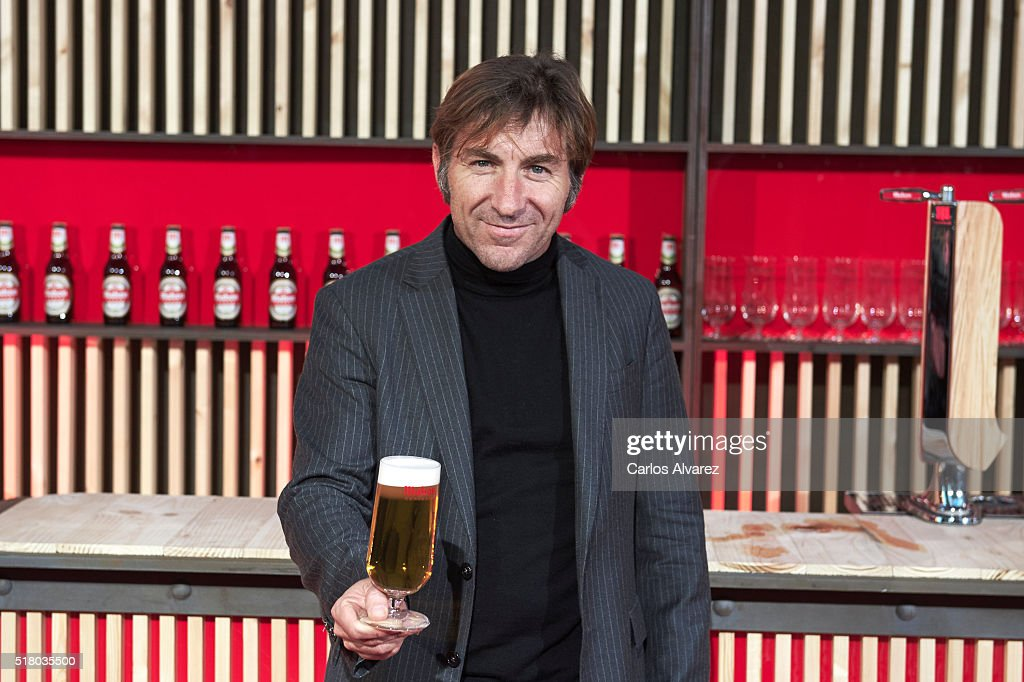 Spanish actor Antonio de la Torre attends the Mahou Spot presentation at the Capitol cinema on March 29, 2016 in Madrid, Spain.