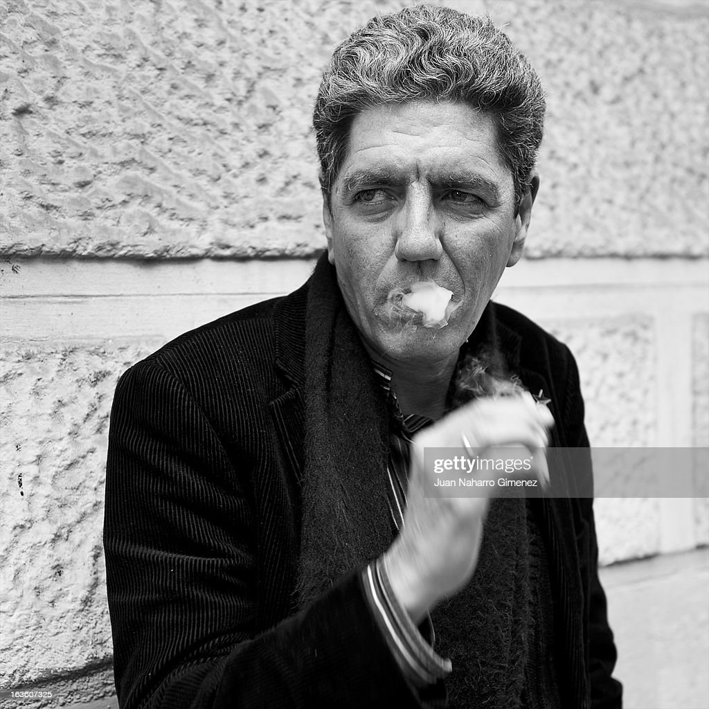 This image has been converted to Black and White) Spanish actor Antonio Dechent poses for a portrait on March 13, 2013 in Madrid, Spain.