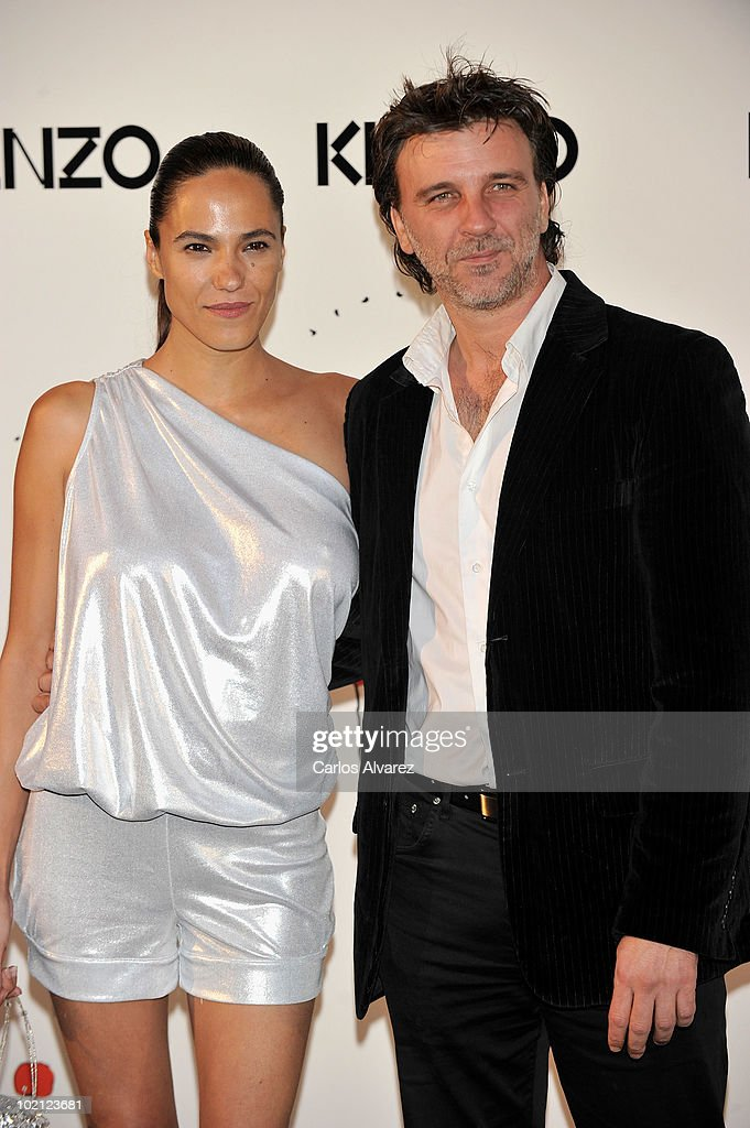 Spanish actor Armando del Rio and his girlfriend attends 'Kenzo' Party at Canal de Isabel II Foundation on June 15, 2010 in Madrid, Spain.