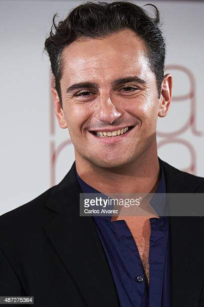 Spanish actor Asier Etxeandia attends 'Ma ma' photocall at the Villamagna Hotel on September 8 2015 in Madrid Spain