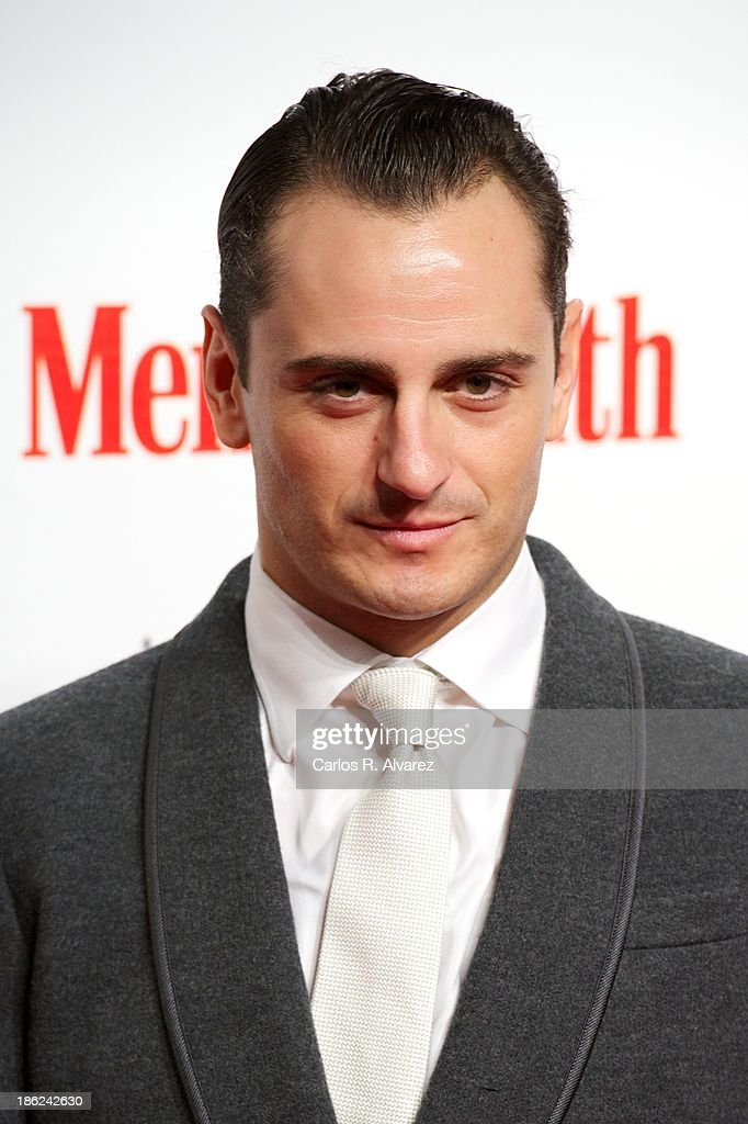Spanish actor Asier Etxeandia attends Men's Health Awards 2013 at the Canal Theater on October 29, 2013 in Madrid, Spain.