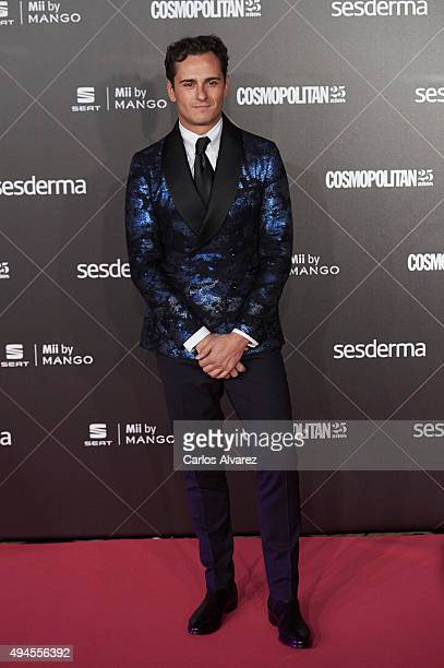 Spanish actor Asier Etxeandia attends the VIII Cosmopolitan Fun Fearless Female Awards at the Ritz hotel on October 27 2015 in Madrid Spain