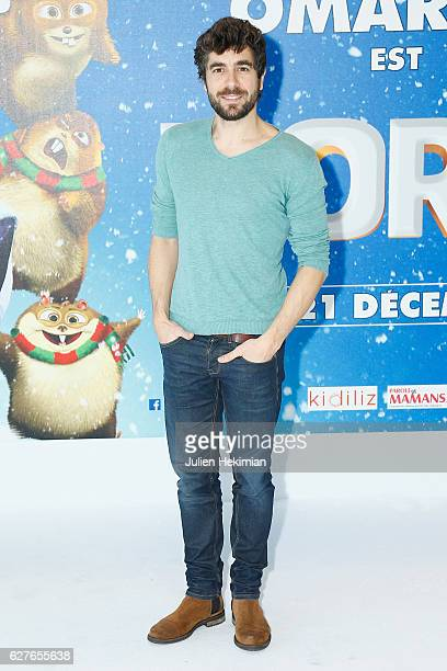 Spanish actor Augustin Galiana attends 'Norm' Paris Premiere at Mk2 Bibliotheque on December 4 2016 in Paris France