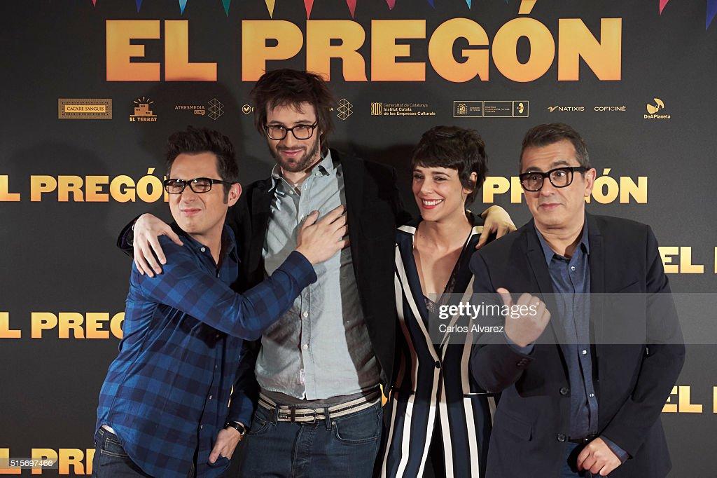 'El Pregon' Photocall