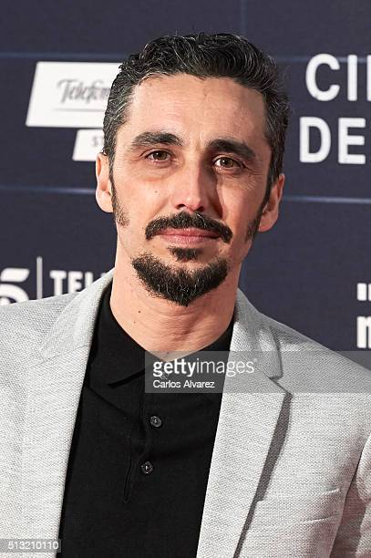 Spanish actor Canco Rodriguez attends the 'Cien Anos de Perdon' premiere at the Capitol cinema on March 1 2016 in Madrid Spain