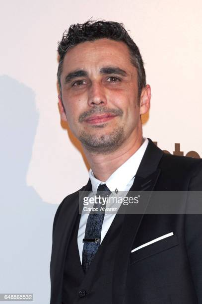 Spanish actor Canco Rodriguez attends the Fotogramas Magazine cinema awards 2017 at the Joy Eslava Club on March 6 2017 in Madrid Spain
