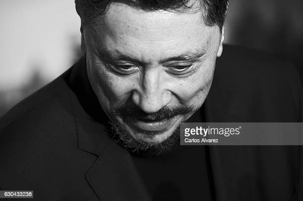 Spanish actor Carlos Bardem attends 'Assassin's Creed' premiere at Kinepolis cinema on on December 22 2016 in Madrid Spain