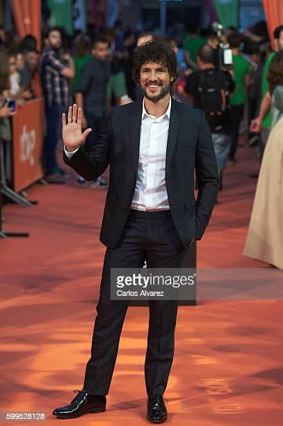 Spanish actor Daniel Grao attends 'La Sonata del Silencio' premiere at the Principal Theater during FesTVal 2016 Day 1 Televison Festival on...