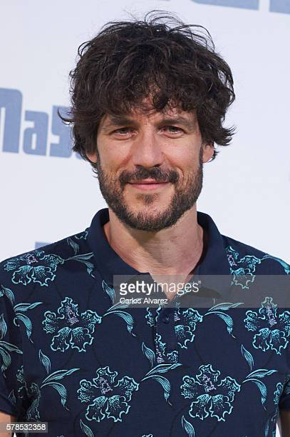 Spanish actor Daniel Grao attends 'Mascotas' premiere at Kinepolis cinema on July 21 2016 in Madrid Spain