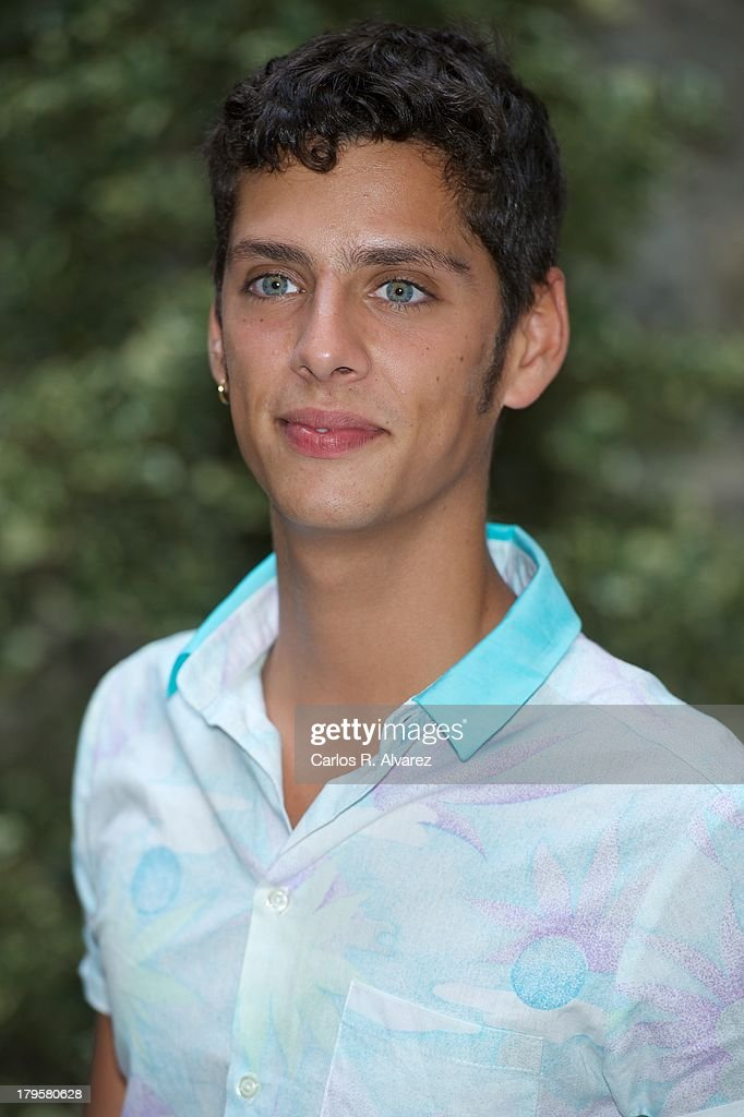 Spanish actor Eduardo Casanova attends the 'Aida' new season presentation during the day four of 5th FesTVal Television Festival 2013 at the Villa Suso Palace on September 5, 2013 in Vitoria-Gasteiz, Spain.