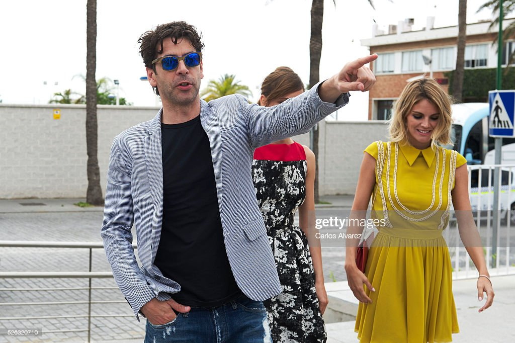 Spanish actor <a gi-track='captionPersonalityLinkClicked' href=/galleries/search?phrase=Eduardo+Noriega&family=editorial&specificpeople=790357 ng-click='$event.stopPropagation()'>Eduardo Noriega</a> and actress <a gi-track='captionPersonalityLinkClicked' href=/galleries/search?phrase=Amaia+Salamanca&family=editorial&specificpeople=5084489 ng-click='$event.stopPropagation()'>Amaia Salamanca</a> attend 'Nuestros Amantes' photocall during the 19th Malaga Film Festival on April 30, 2016 in Malaga, Spain.