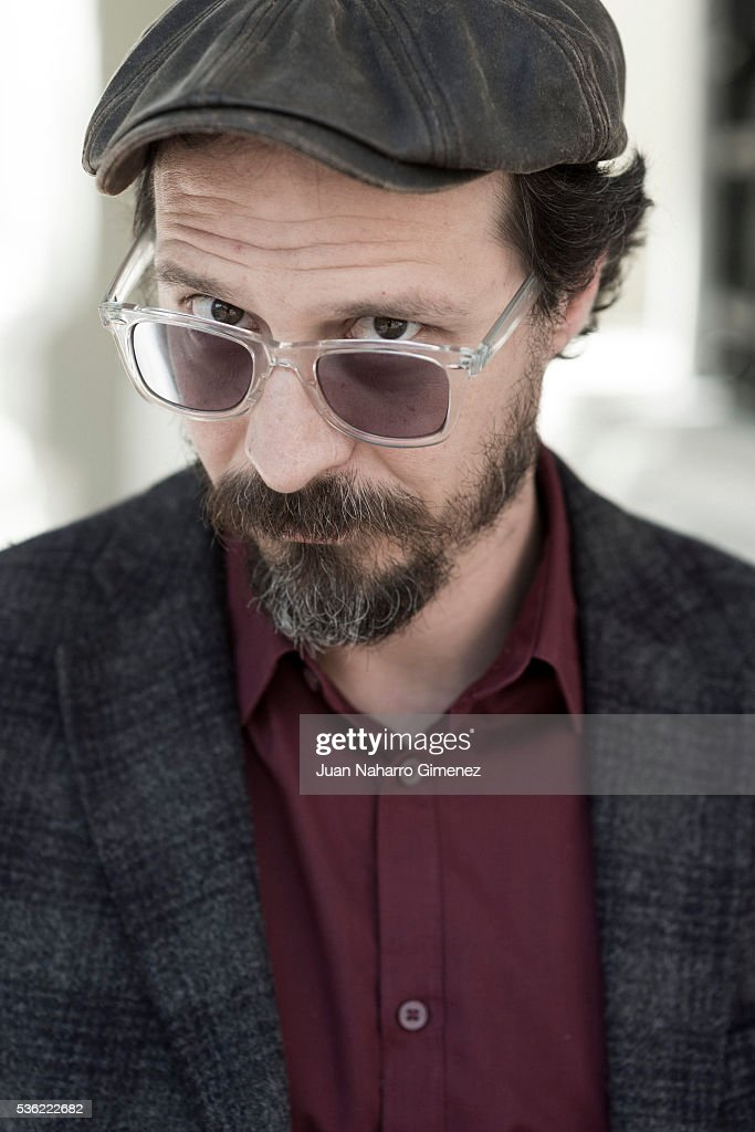 Spanish actor Fele Martinez poses during a portrait session during promotion of the film 'Nuestros Amantes' on May 31, 2016 in Madrid, Spain.