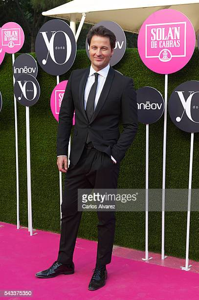 Spanish actor Fernando Andina attends 'Yo Dona' International awards on June 27 2016 in Madrid Spain