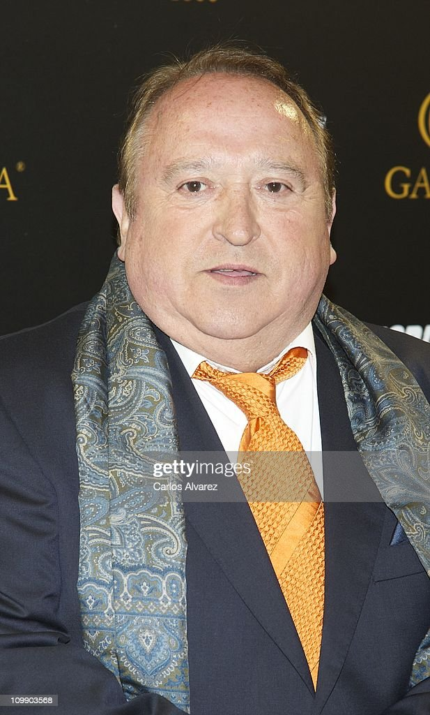 Spanish actor Fernando Esteso attends 'Torrente 4' premiere at the Capitol cinema on March 9, 2011 in Madrid, Spain.