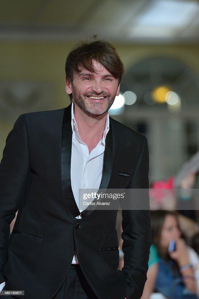 Spanish actor Fernando Tejero attends the 'Carmina y Amen' premiere during the 17th Malaga Film Festival at the Cervantes Theater on March 22, 2014 in Malaga, Spain.
