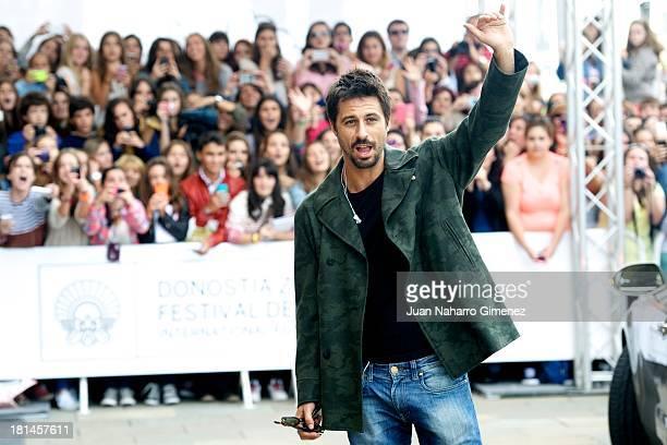 Spanish actor Hugo Silva arrives at Maria Cristina Hotel during 61st San Sebastian Film Festival on September 21 2013 in San Sebastian Spain