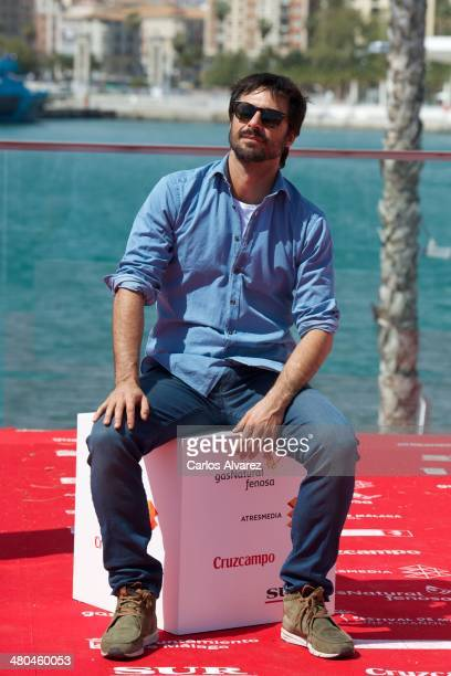 Spanish actor Hugo Silva attends the 'Dioses y Perros' photocall during the 17th Malaga Film Festival 2014 Day 5 on March 25 2014 in Malaga Spain