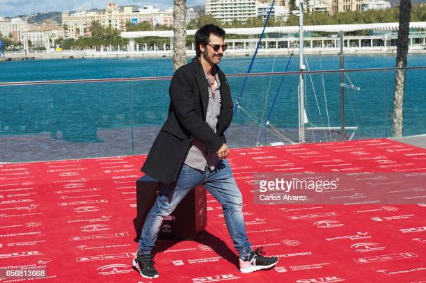 Spanish actor Hugo Silva attends the 'El Intercambio' photocall on day 7 of the 20th Malaga Film Festival on March 23 2017 in Malaga Spain