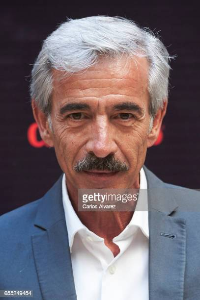 Spanish actor Imanol Arias attends 'Despido Procedente' photocall during the 20th Malaga Film Festival on March 19 2017 in Malaga Spain