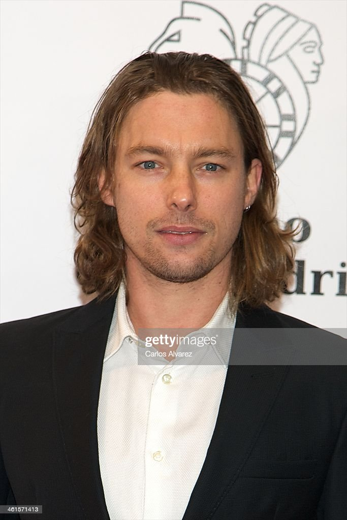 Spanish actor <a gi-track='captionPersonalityLinkClicked' href=/galleries/search?phrase=Jan+Cornet&family=editorial&specificpeople=7357355 ng-click='$event.stopPropagation()'>Jan Cornet</a> attends the Casino Gran Madrid Colon opening on January 9, 2014 in Madrid, Spain.