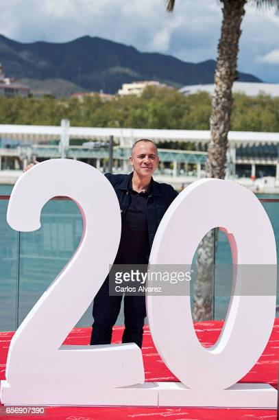 Spanish actor Javier Gutierrez attends the 'Plan de Fuga' photocall on day 7 of the 20th Malaga Film Festival on March 23 2017 in Malaga Spain