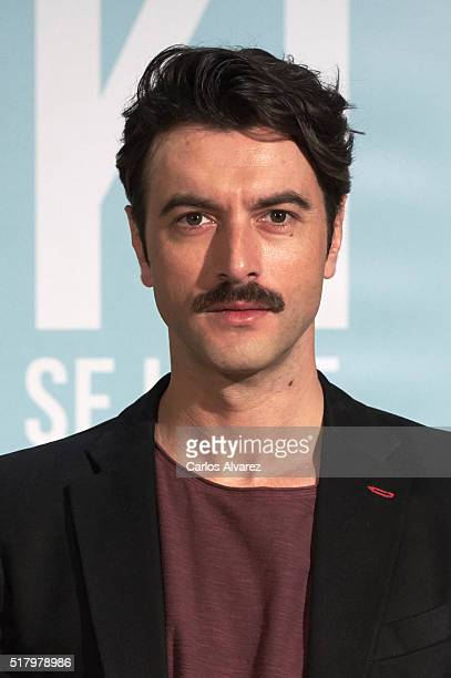 Spanish actor Javier Rey attends 'Kiki El Amor Se Hace' photocall at the Urso Hotel on March 29 2016 in Madrid Spain