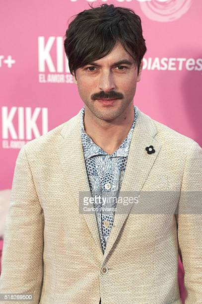 Spanish actor Javier Rey attends 'Kiki El Amor Se Hace' premiere at the Capitol premiere on March 30 2016 in Madrid Spain