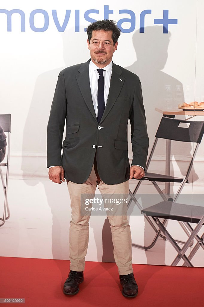Spanish actor <a gi-track='captionPersonalityLinkClicked' href=/galleries/search?phrase=Jorge+Sanz&family=editorial&specificpeople=788755 ng-click='$event.stopPropagation()'>Jorge Sanz</a> attends the 'Que fue de <a gi-track='captionPersonalityLinkClicked' href=/galleries/search?phrase=Jorge+Sanz&family=editorial&specificpeople=788755 ng-click='$event.stopPropagation()'>Jorge Sanz</a>' premiere at the Proyecciones cinema on February 10, 2016 in Madrid, Spain.
