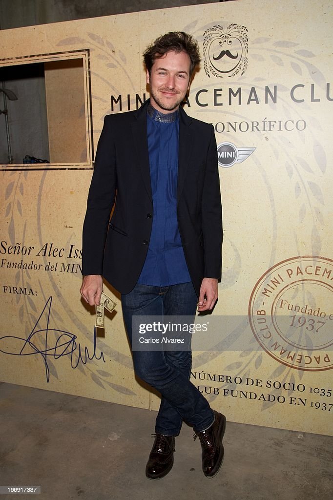 Spanish actor Jorge Suquet attends the new 'Mini Paceman' presentation party at the Museo del Ferrocarril on April 18, 2013 in Madrid, Spain.