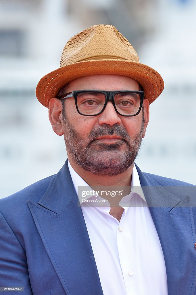 Spanish actor Jose Corbacho attends 'El Futuro Ya No Es Lo Que Era' photocall during the Malaga Film Festival on April 29, 2016 in Malaga, .