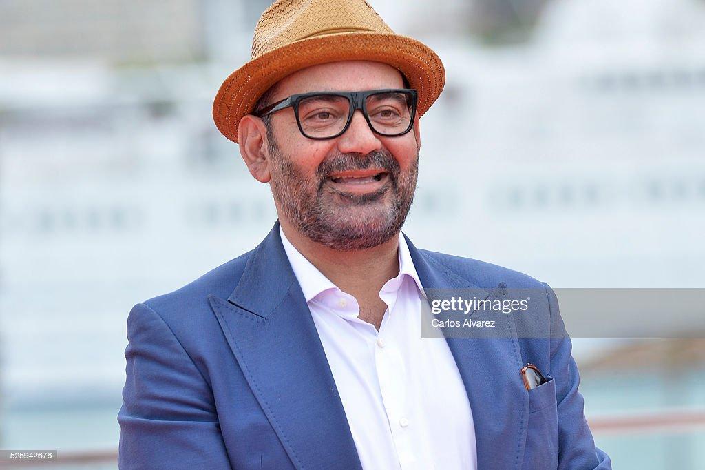 Spanish actor Jose Corbacho attends 'El Futuro Ya No Es Lo Que Era' photocall during the Malaga Film Festival on April 29, 2016 in Malaga, .