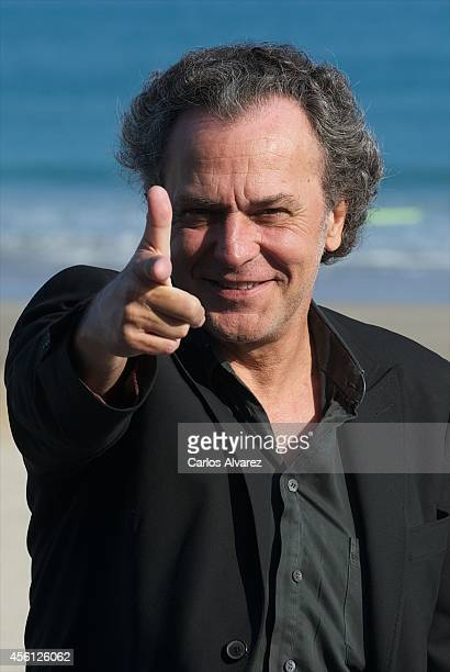 Spanish actor Jose Coronado attends the 'Murieron Por Encima de sus Posibilidades' photocall at the Kursaal Palace during the 62nd San Sebastian...