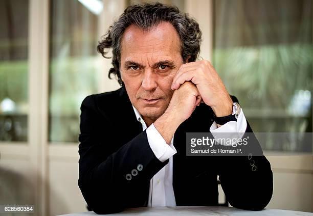Spanish actor Jose Coronado poses for a portrait session at Maria Cristina Hotel on September 17 2016 in San Sebastian Spain