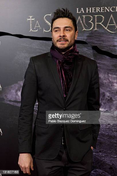 Spanish actor Jose Manuel Seda attends 'La Sombra Prohibida' Premiere at Palafox Cinema on January 27 2011 in Madrid Spain