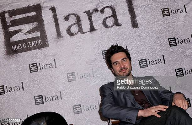 Spanish actor Jose Manuel Seda attends 'Mecenazgo de Butacas' Gala at Lara Theatre on March 28 2011 in Madrid Spain