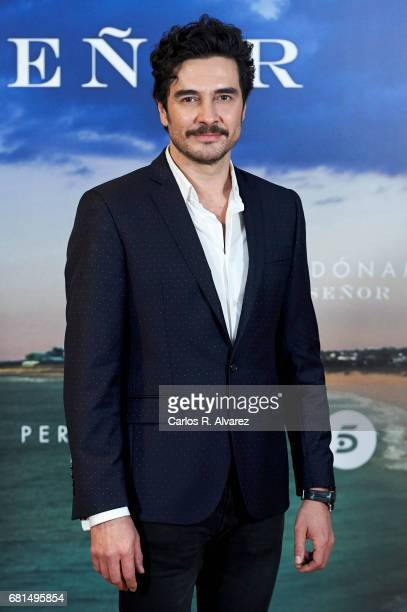 Spanish actor Jose Manuel Seda attends the 'Perdoname Senor' photocall at Mediaset Studios on May 10 2017 in Madrid Spain