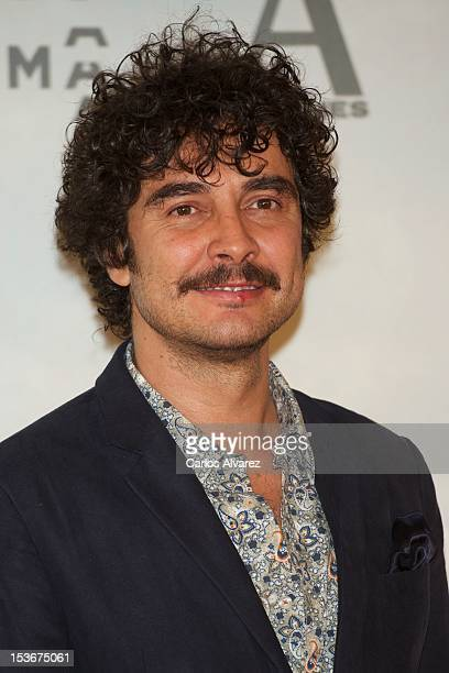Spanish actor Jose Manuel Seda attends the 'The Impossible' premiere at Kinepolis cinema on October 8 2012 in Madrid Spain