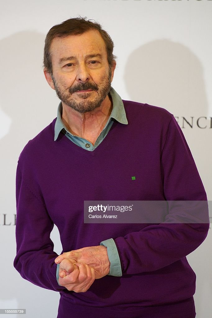 Spanish actor Juan Diego attends the 'Todo es Silencio' photocall at the Palafox cinema on November 5, 2012 in Madrid, Spain.