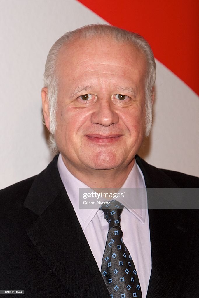 Spanish actor Juan Echanove attends the 'Maison Mumm' inauguration at the Santo Mauro Hotel on December 11, 2012 in Madrid, Spain.